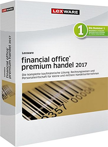 Lexware financial office premium handel 2017 Jahresversion (365-Tage)